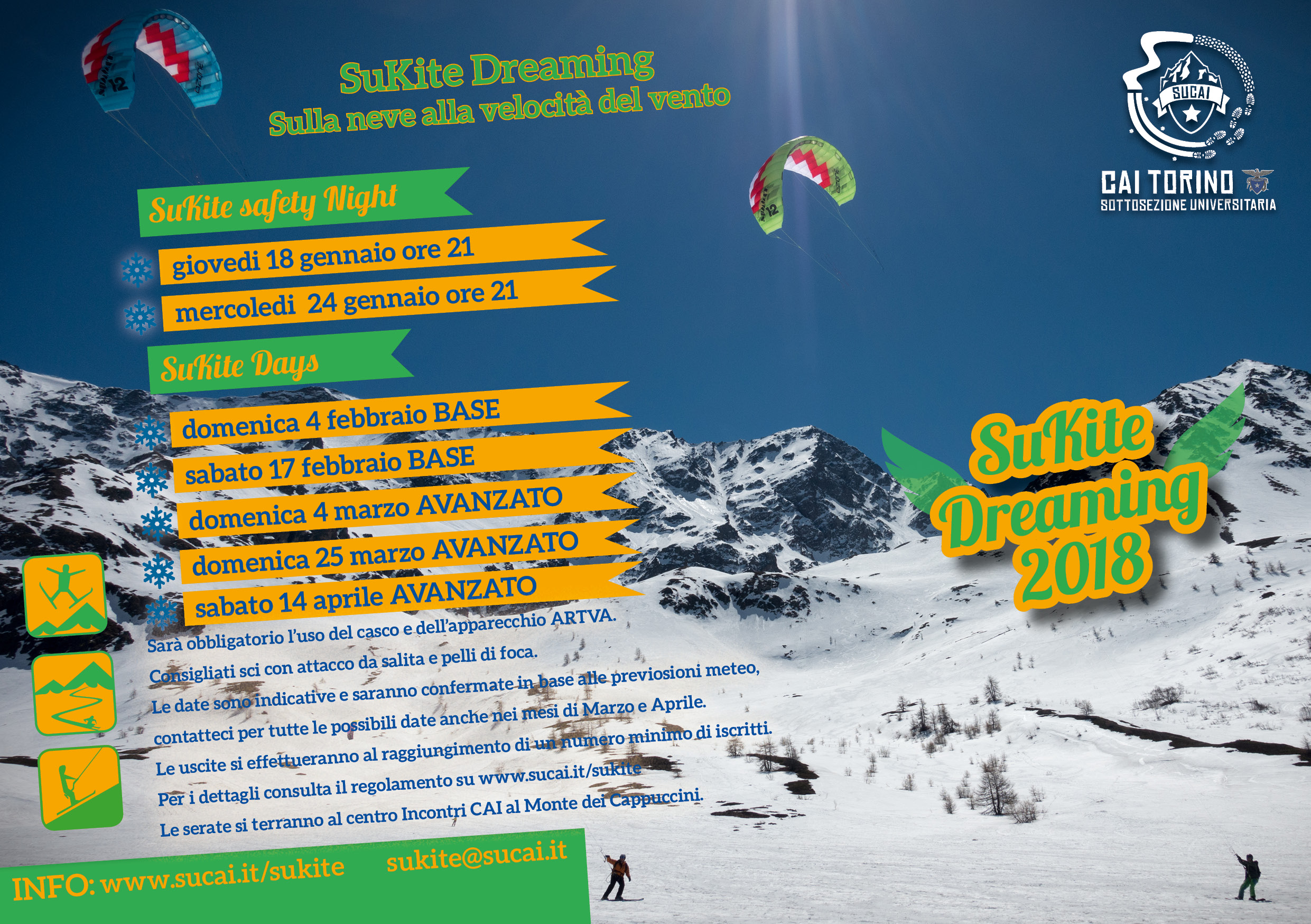 Volantino Freeride Dreamiong