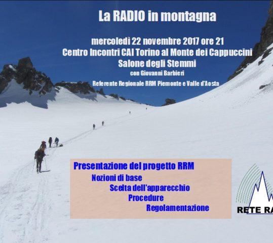 La radio in montagna