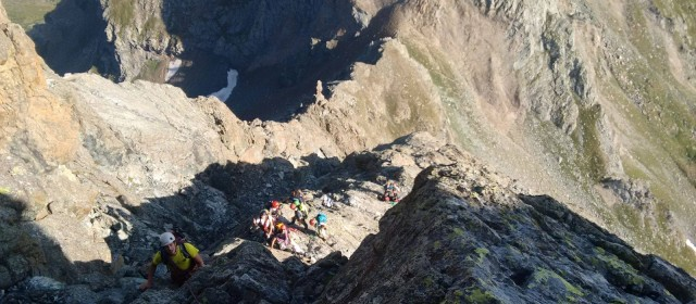 Cresta dell'ometto (2° uscita Inviti alpinismo)